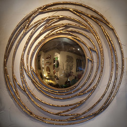 Mirrors and Wall Art - You can maximize a room's style with a well placed mirror. Why not choose one that is handcrafted and unique?