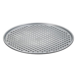 "Cuisinart - Cuisinart Chef's Classic Non-Stick 14"" Pizza Pan - You like your pizza baked to crispy perfection, so go with this perforated pan that features a nonstick coating perfect for your crusts. You can also use it for calzones, garlic bread, dinner rolls, pastries and other goodies that need that crispy touch."