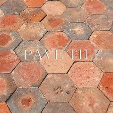Mediterranean Floor Tiles by Pavé Tile, Wood & Stone, Inc.