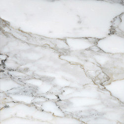"marblesystems - Calacatta Gold Extra Polished Marble Tiles 12"" x 12"" x 3/8"" - Natural marble tile."