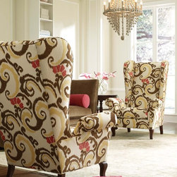 Wing Back Chairs - Cr Laine