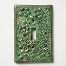 Eclectic Switchplates by Anthropologie