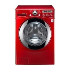 Laundry Products LG High-Efficiency Front-Load Washer (Wild Cherry Red)