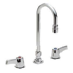 "Delta - Delta 27c2923 Commercial 8 Center Mount Faucet W/spray Chrome - Delta 27C2923 Commercial Faucet Line is designed for long lasting performance. The Delta 27C2923 is an 8"" Center Mount Faucet With Spray in Chrome."