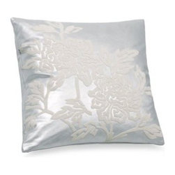 E & E Co., Ltd. - Snow Leopard Silver 20-Inch x 20-Inch Square Toss Pillow - Enhance the look of your Snow Leopard bedding with this coordinating toss pillow. It's the perfect complement to this modern bedding.