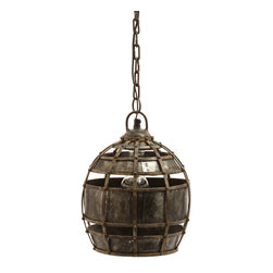 Lazy Susan - Round Fortress Pendant Light - Round Fortress Pendant Light