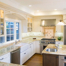 Traditional Kitchen by Dickinson Cabinetry