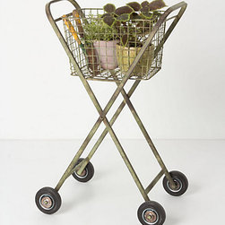 Cultivate Garden Cart - This garden cart feels vintage, utilitarian and oddly sweet. I like the idea of using it as a planter, but I could also see it filled with my kids' toys.