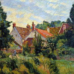 """Art MegaMart - Armand Guillaumin Epinay-sur-Orge - 20"""" x 25"""" Premium Canvas Print - 20"""" x 25"""" Armand Guillaumin Epinay-sur-Orge premium canvas print reproduced to meet museum quality standards. Our museum quality canvas prints are produced using high-precision print technology for a more accurate reproduction printed on high quality canvas with fade-resistant, archival inks. Our progressive business model allows us to offer works of art to you at the best wholesale pricing, significantly less than art gallery prices, affordable to all. We present a comprehensive collection of exceptional canvas art reproductions by Armand Guillaumin."""