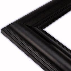 The Frame Guys - Hanover Black Picture Frame-Solid Wood, 12x18 - *Hanover Black Picture Frame-Solid Wood, 12x18
