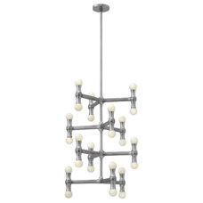 Eclectic Chandeliers by Littman Bros Lighting