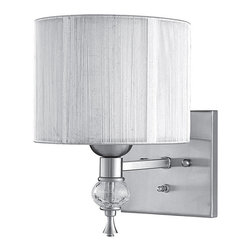 World Imports Bayonne Collection Single Light Wall Sconce -