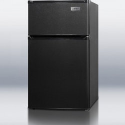 "Summit - CP-35B 19"" 2.9 cu. ft. Compact Refrigerator with Cycle Defrost  Adjustable Shelv - SUMMIT CP35B puts the most advanced energy efficient refrigerator-freezer technology into an ENERGY STAR listed two-door compact unit with a uniquely thin 19 width and jet black exterior Cycle defrost provides automatic defrost of the refrigerator to..."