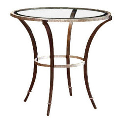 "Marge Carson - Marge Carson Sonoma Round End Table - Marge Carson Living Room Sonoma Round End Table. Width: 32"" Depth: 32"" Height: 29 1/2""   Please allow up to 8 weeks for shipping"