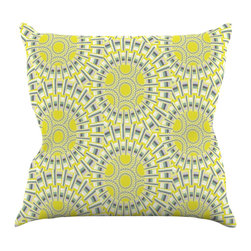 "Kess InHouse - Miranda Mol ""Sprouting Cells "" Throw Pillow (18"" x 18"") - Rest among the art you love. Transform your hang out room into a hip gallery, that's also comfortable. With this pillow you can create an environment that reflects your unique style. It's amazing what a throw pillow can do to complete a room. (Kess InHouse is not responsible for pillow fighting that may occur as the result of creative stimulation)."