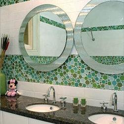 CTM Bubble glass tile Pond -