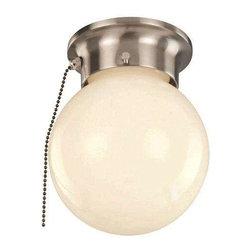 Trans Globe Lighting - Trans Globe Lighting 3606P BN Flushmount In Brushed Nickel - Part Number: 3606P BN