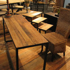 Furniture Classics Limited - Old Elm Writing Desk -