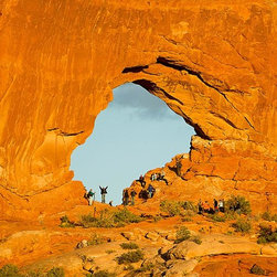 Magic Murals - Hole in Rock Wall Arches National Park Wallpaper Wall Mural - Self-Adhesive - Mu - Hole in Rock Wall Arches National Park Wall Mural