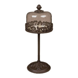 GG Collection - The GG Collection 18in Dessert Pedestal - The GG Collection 18in Dessert Pedestal
