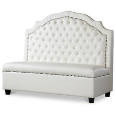 Contemporary Dining Benches by Overstock.com