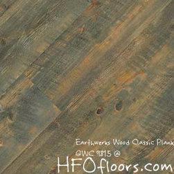 Earthwerks Wood Classic Plank - Earthwerks Wood Classic Plank, GWC 9815. Available at HFOfloors.com.
