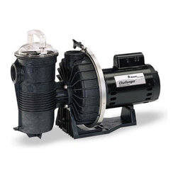 PENTAIR WATER POOL & SPA - Pump 2HP Full-Rated Energy Efficient HF 208/230V - CFII-NI-2FE - Challenger 2 Horsepower, Energy Efficient In-ground Pool Pump. 230v