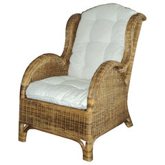 traditional armchairs Maestro Chair With Cushions