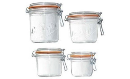 traditional food containers and storage by Amazon