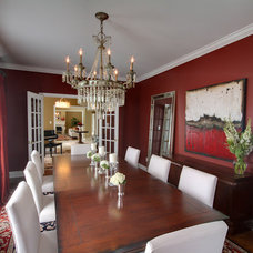 Traditional Dining Room by Avalon Interiors
