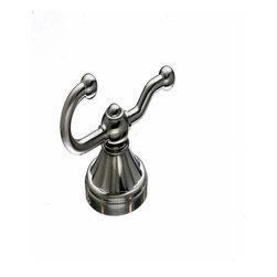 Top Knobs - Top Knobs: Hudson Bath Double Hook - Brushed Satin Nickel - Top Knobs: Hudson Bath Double Hook - Brushed Satin Nickel