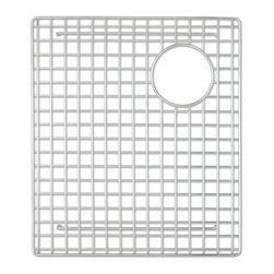 "Native Trails - Native Trails 15"" x 17"" Bottom Grid in Stainless Steel - *Native Trails Bottom Grids fit neatly on the floor of the sink, offering protection for the bottom and a cushion for fragile dishes"