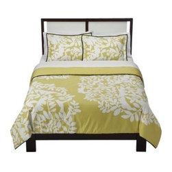 DwellStudio Foliage Comforter Set - Good design now found at your neighborhood Target.