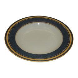 Mikasa - Mikasa Imperial Lapis  Rim Soup Bowl - Mikasa Imperial Lapis  Rim Soup Bowl