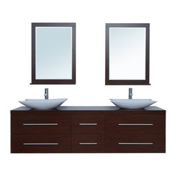 "72"" Calliope Double Sink Vanity - http://www.furnishedup.com/"