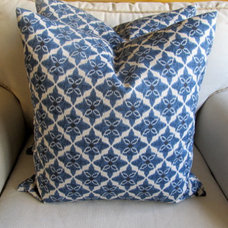 LAPIS Pair of Pillow Covers 20x20 by yiayias on Etsy