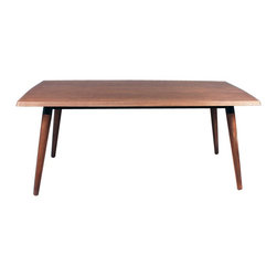 Control Brand Midcentury Dining/Meeting Table - A dining table by night and a meeting table by day, this über-functional piece will quickly become the centerpiece and gathering place of your home.