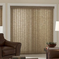 Family Room Inspiration - Vertical Blinds turn large windows and sliding glass doors into enviable focal points. Custom Vertical Blinds solve any problem. Sheer Verticals provide light, privacy and insulation without blocking your view. Vinyl Verticals are effortlessly chic and work year-round to keep energy bills low. Fabric Verticals complement any décor. Mix and match with other 3 Day Blinds window treatments to create a custom look.