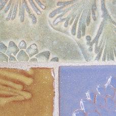 Beach Style Bathroom by Mercury Mosaics and Tile