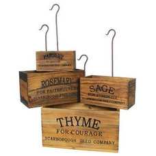 Traditional Spice Jars And Spice Racks by Farmhouse Wares