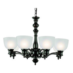 Trans Globe Lighting - Trans Globe Lighting 7298 ROB Chandelier In Rubbed Oil Bronze - Part Number: 7298 ROB