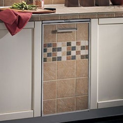 Broan - 15TT Elite Fully Integrated Trash Compactor with 1.55 cu. ft. Capacity  3/4 HP M - In the midst of the Great Depression two aggressive young men emerged with two new products that would make major contributions to the housing industry In 1932 Henry Broan developed and manufactured a kitchen fan called the Motordor Fan that provided...