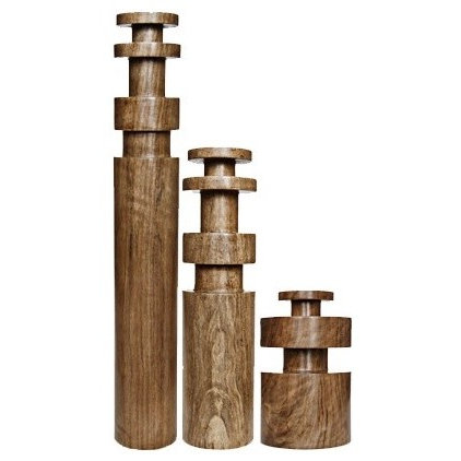 Eclectic Candleholders by Sparrow & Co.