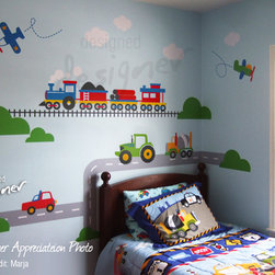 kids wall decoration - https://www.etsy.com/listing/87245768/wall-decal-children-wall-decals?ref=shop_home_feat