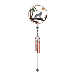 GSC - Wind Chime Copper & Gem Wolf Musical Hanging Garden Porch Decoration - This gorgeous Wind Chime Copper & Gem Wolf Musical Hanging Garden Porch Decoration has the finest details and highest quality you will find anywhere! Wind Chime Copper & Gem Wolf Musical Hanging Garden Porch Decoration is truly remarkable.