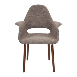 IMAX - Bowden Retro Accent Chair - Retro revival: A polypropylene accent chair gives mid-century modern a good name.