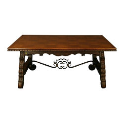 EuroLux Home - Large Consigned Vintage French Dining Table - Product Details