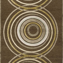 Home Decorators Collection - Elise Area Rug II - The neutral color palette and bold, overlapping circle design make our Elise Area Rug perfect for formal or casual decor. This contemporary rug from our Eden Collection is beautifully crafted in machine-tufted synthetics for durability and softness. Machine-made of synthetic materials to ensure stain-resistance and durability. Available in a variety of sizes and colors.