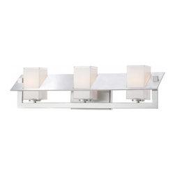 George Kovacs - Tilt 3-Light Bath Bar - Tilt 3-Light Bath Bar