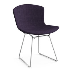 Knoll Dining and Guest Chairs - Bertoia Side Chair with Full Cover